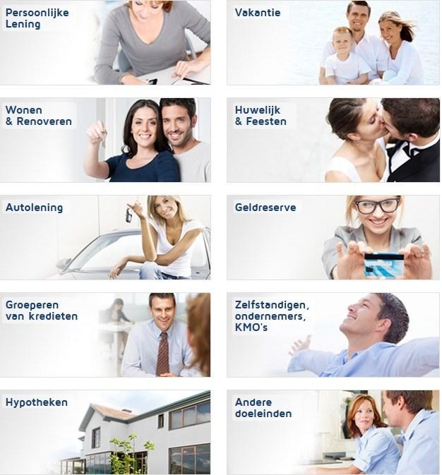 Kredietpartner voor alle soorten leningen