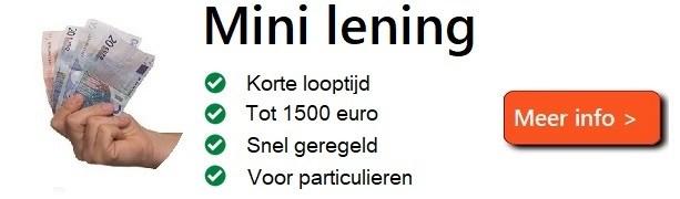 Een mini lening tot 1500 euro aanvragen via online-lening.net